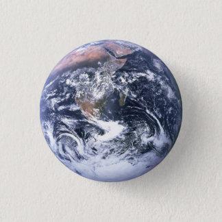 完全な地球ボタン 3.2CM 丸型バッジ