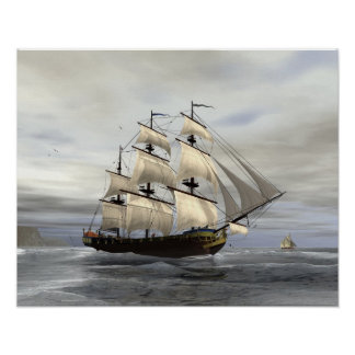 完全な帆 ポスター