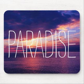 完全な楽園の日没 マウスパッド