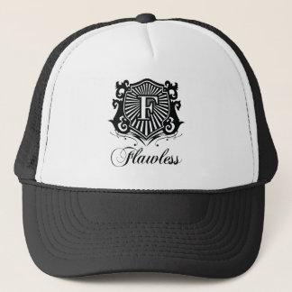 完全な白黒帽子 キャップ