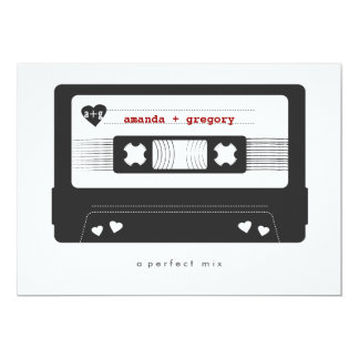 完全な組合せ-組合せテープ保存日付カード 12.7 X 17.8 インビテーションカード