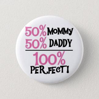 完全な100% -ピンクのTシャツおよびギフト 缶バッジ
