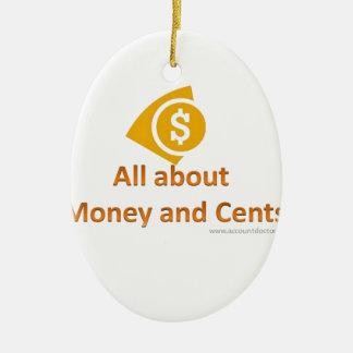 完全にお金について セラミックオーナメント
