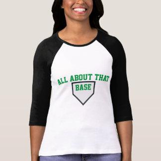完全にその基礎女性の野球のティーについて Tシャツ