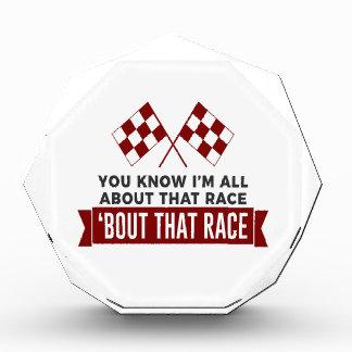完全にその競争のレースカー回路について 表彰盾