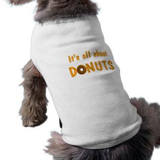 完全にドーナツについて ペット服