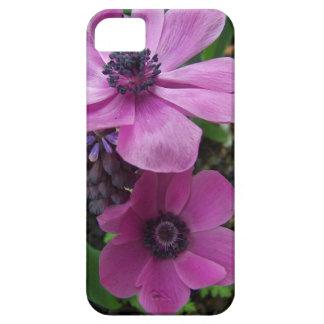 完全にピンクのアネモネの花 iPhone SE/5/5s ケース