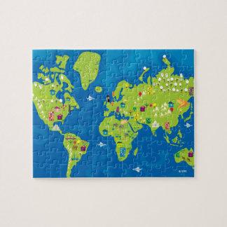 完全に世界中で ジグソーパズル