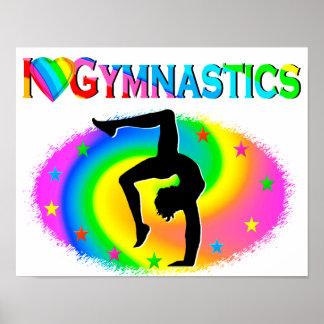 完全に体操のチャンピオンのまわりで ポスター