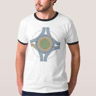 完全に回り道について Tシャツ