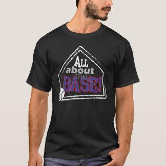 完全に基盤-野球のTシャツについて Tシャツ