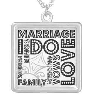 完全に結婚式の純銀製のネックレスについて シルバープレートネックレス