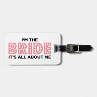 完全に花嫁のピンクについて バッグタグ
