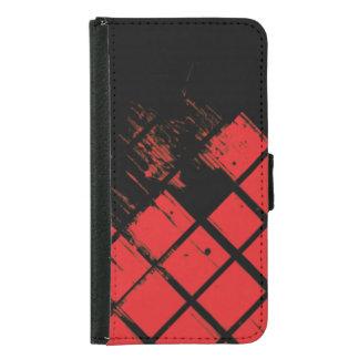 完全に赤 GALAXY S5 ウォレットケース
