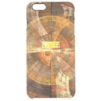 完全性の抽象美術 クリア iPhone 6 PLUSケース