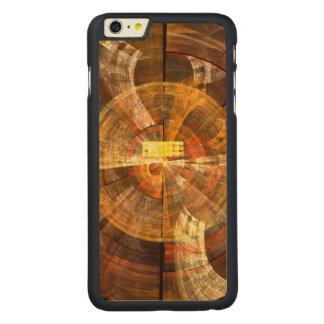 完全性の抽象美術 CarvedメープルiPhone 6 PLUS スリムケース