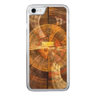 完全性の抽象美術 CARVED iPhone 8/7 ケース