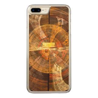 完全性の抽象美術 CARVED iPhone 8 PLUS/7 PLUS ケース