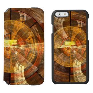 完全性の抽象美術 INCIPIO WATSON™ iPhone 6 ウォレットケース