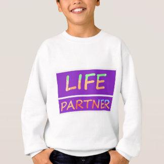 完全: 生命パートナー スウェットシャツ