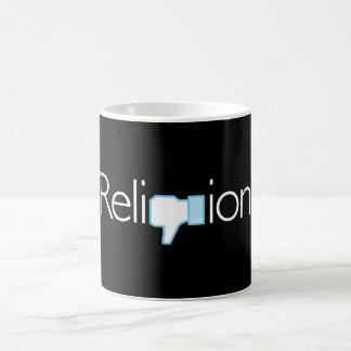 宗教か。 親指! コーヒーマグカップ
