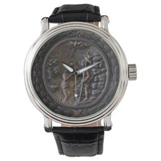 宗教のキリスト教の洗礼教会木場面 腕時計