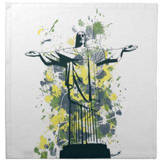 宗教の彫像 ナプキンクロス