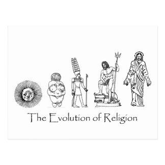 宗教の進化 ポストカード