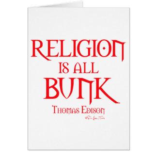 宗教はすべての寝台2です カード