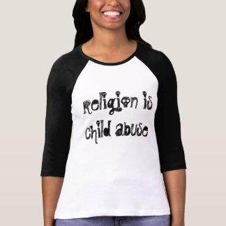 宗教は児童虐待、Tシャツです Tシャツ