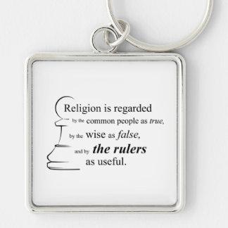 宗教は有用です キーホルダー