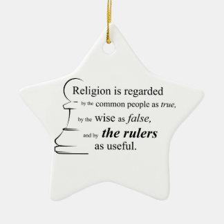 宗教は有用です セラミックオーナメント