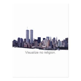 宗教を視覚化しないで下さい ポストカード