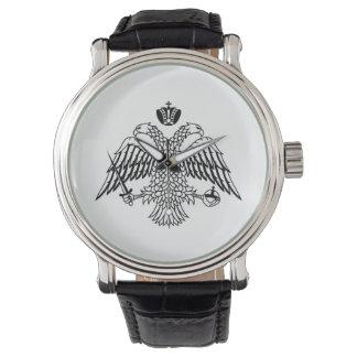 宗教ギリシャ正教会の旗アトス自治修道士共和国 腕時計