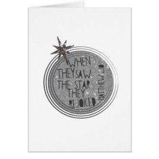 宗教クリスマスの聖なる書物、経典 グリーティングカード