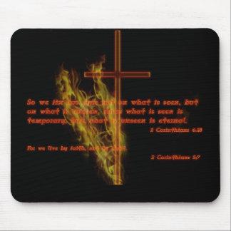 宗教スタイルの黒のマウスパッド マウスパッド