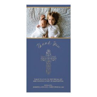 宗教写真カード-ありがとう(洗礼、等) カード