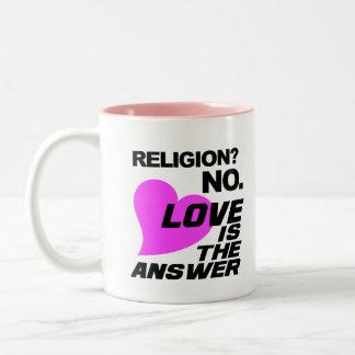宗教及び愛マグ ツートーンマグカップ