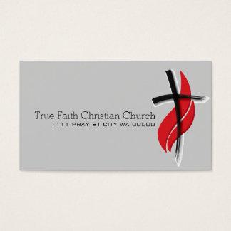 宗教宗教のキリスト教の牧師のキリスト教 名刺