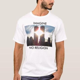、宗教想像しないで下さい Tシャツ