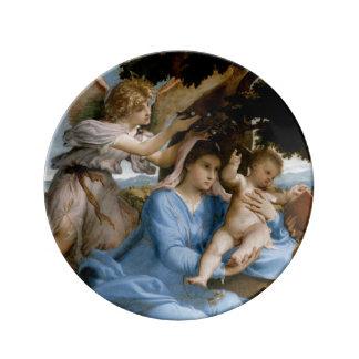 宗教芸術の磁器皿 磁器プレート