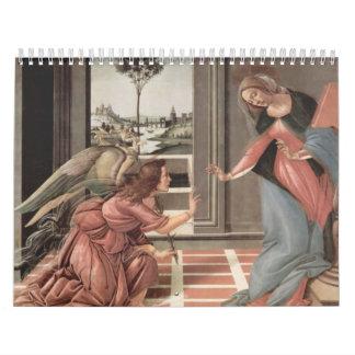 宗教芸術 カレンダー
