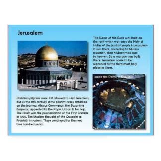宗教、エルサレムへの巡礼者 ポストカード