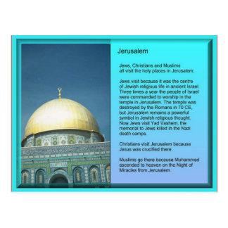 宗教、エルサレムへの訪問者 ポストカード