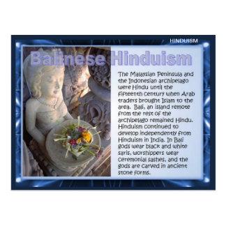 宗教、バリ島のヒンズー教 ポストカード