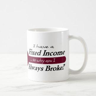 定収入はまたはマグ-プラム--を常に壊しました コーヒーマグカップ