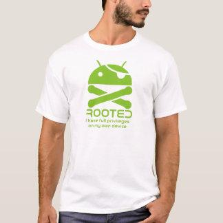 定着するアンドロイド Tシャツ