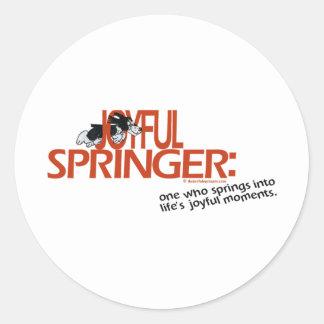 定義される嬉しいスプリンガー ラウンドシール