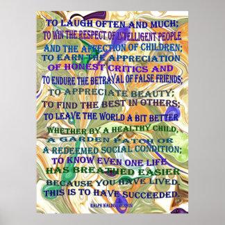 定義される成功 ポスター