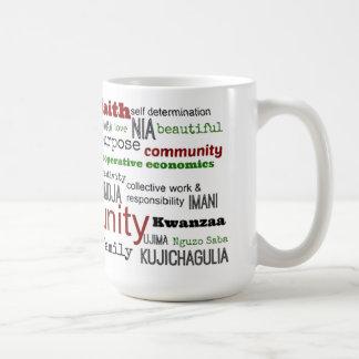 定義上ではKwanzaaのマグ コーヒーマグカップ
